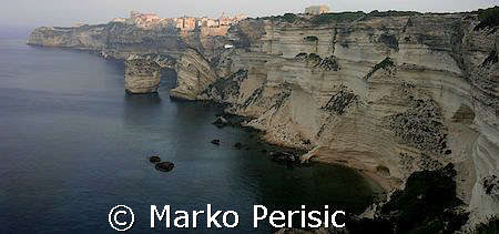 On the southern tip of Corsica. With its steep sandstone ... by Marko Perisic 